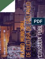 caderno_plano municipal de cultura SP