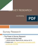 Wedeking_Survey_Research
