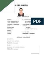 GUILERMINA RIZO BANDERA
