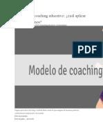 Modelos de Coaching Educativo