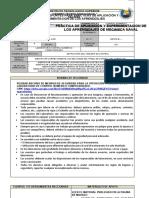 Pae 2. Estructura Del Tablero de Control Pae 2 u1