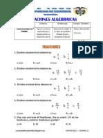 Matematic1 Sem22 Experiencia6 Actividad5 Fraccioneses FR122 Ccesa007