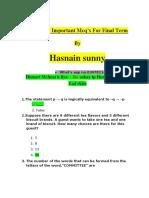 Mth202 Final Term AndMCQ by Hasnain Sunny (1)