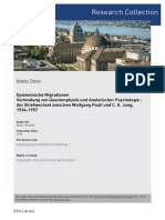 Epistemische Migrationen. Verbindung von Quantenphysik und Analytischer Psychologie - Der Briefwechsel zwischen Wolfgang Pauli und C. G. Jung, 1934-1957