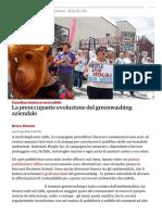 La preoccupante evoluzione del greenwashing aziendale _ Guardian _ di business sostenibile Il Guardiano
