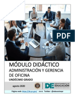 AdministracioÌ_n y Gerencia de Oficina