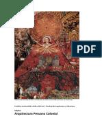 2020 1 Arquitectura Peruana Colonial Silabus