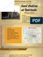 ARQUITECTURA BARROCA SAN ANDRES DE QUIRINAL