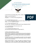 14° - La Moral en el Grado 14° . V.·. H.·. Pedro Enrique Chong Albornoz, 14°