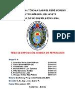 Informe grupo N° 4 - Sísmica de Refracción - GLG211