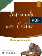 01 Modelos -Testemunho por CARTAS - 2 Ped. Cao 3 Vers. 1, 2 - 2021