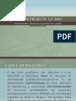 11 - Elaboração de um relatório técnico-científico