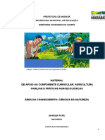 Caderno de apoio pedagógico ao componente de Agricultura Familiar 01 de junho