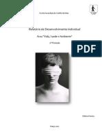 3 - Relatório de Desenvolvimento Individual - Débora Pereira