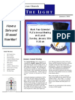 Farmington Lutheran Church January 2011 Newsletter