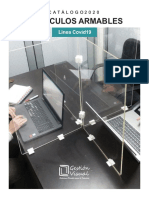 Cubiculos Armables COVID 19