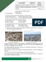 Avaliação Ciências- Geografia - História 29-04-2021