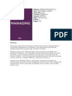 Managing Libro
