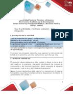 Guía de actividades y rúbrica de evaluación - Fase 1 - Indagación (1)