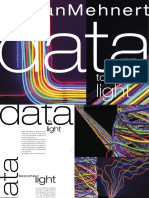 Data to Light Lichtkunstinstallation