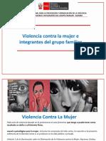 PPT violencia contra mujer e integrantes