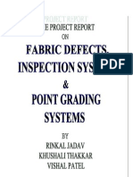 FABRIC DEFECTS AND POINT GRADING SYSTEM