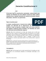 Guia de Derecho Constitucional II