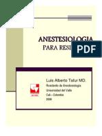 Anestesiologia para Residentes