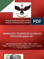 14° Simbologia y Filosofia, Imágenes. Logia 14°.Simbología y Filosofía Grado 14°- V.·. H.·. Carlos Alberto Tejeda Rojas, 14°
