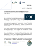 Circular No M00 052 2021 Medidas Generales Rregreso a Clases