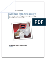 Atomic Spectroscopy
