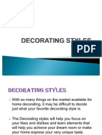 Decorating Styles