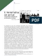 -Chase, C. (2005). Hermafroditas con actitud cartografiando la emergencia del activismo político intersexual