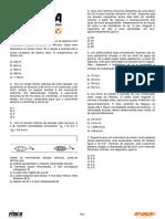 Lista de exercicios de fisica (cinematrica1)