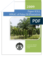 HIRAC of Palm Oil Plantation