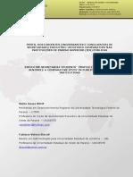 PERFIL DOS DISCENTES (INGRESSANTES E CONCLUINTES