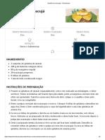 Semifrio de Maracujá - Teleculinaria