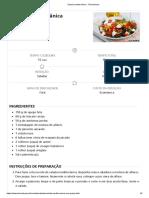 Salada Mediterrânica - Teleculinaria