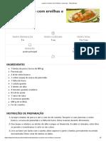 Lombo No Tacho Com Ervilhas e Cenouras - Teleculinaria