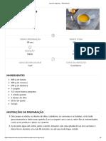 Sopa de Legumes - Teleculinaria