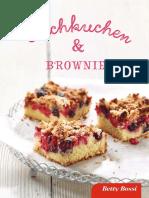 Betty Bossy - Blechkuchen & Brownies