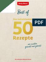 Betty Bossy - Die Beliebtesten 50 Rezepte
