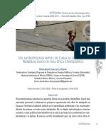 Un AntropLogo Novel en Caracas (2005-2011).