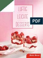 Betty Bossy - Luftig, Leichte Desserts