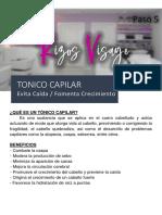Paso V - Tonico Capilar - Rizos Visage
