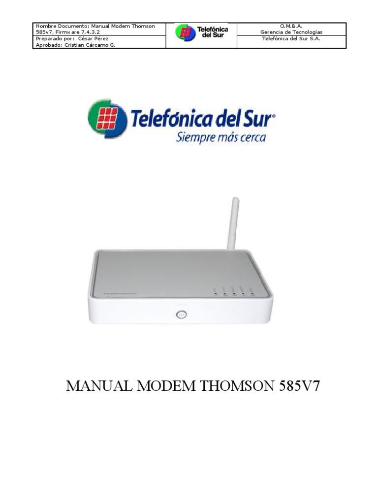 585v7 Manual