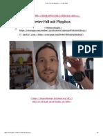 Freier Fall mit phyphox – Create Apps