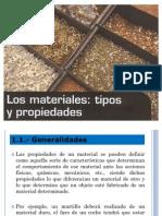 PROPIEDADES GENERALES DE LOS MATERIALES EN GENERAL