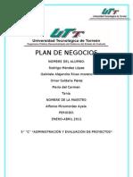 PLAN DE NEGOCIOS 11