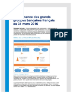 Fr Performance Grands Groupes Bancaires Francais 032016